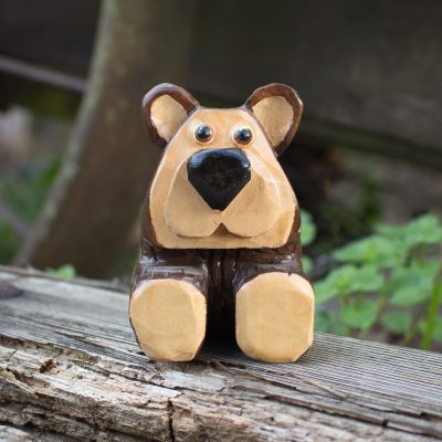 Simple Brown Bear Pattern