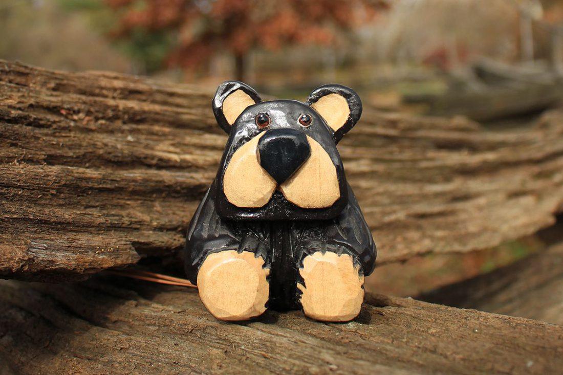 Black Bear on a Fence