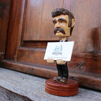Gentleman Cardholder Left View