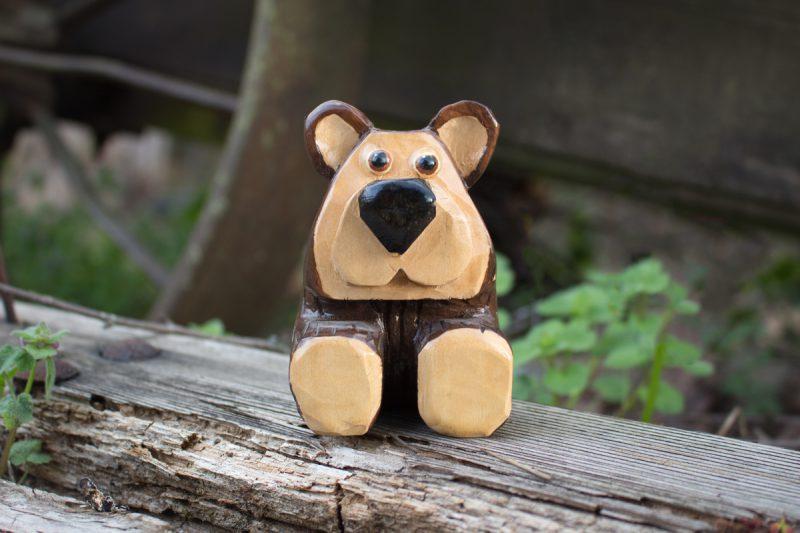 Simple Brown Bear Pattern